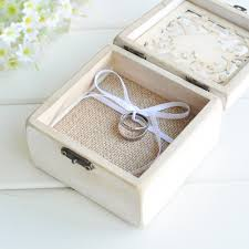 shabby chic dog ring holder images New personalized ring box rustic shabby chic wedding ring holder jpg