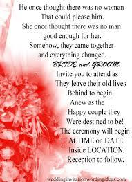 exle of wedding programs philippine wedding invitations wordings popular wedding