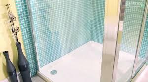 coram shower door spares 1000 bi fold shower door enclosure u0026 side panel youtube