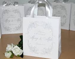 welcome bags for weddings wedding welcome bags etsy