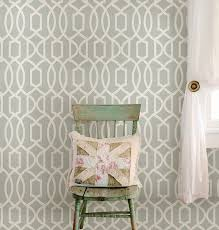 wall pops nu1421 gray grand trellis peel and stick wallpaper