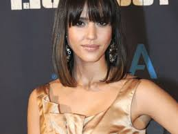 bangs for thin hair best shoulder length bob hairstyles medium