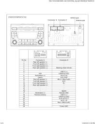kia car radio stereo audio wiring diagram autoradio connector wire