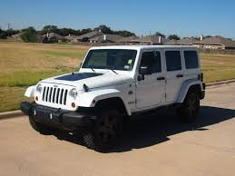 jeep rubicon white 4 door 2012 jeep wrangler unlimited sahara arctic edition only 3k miles