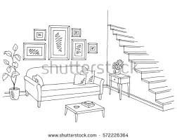 Interior House Drawing House Drawing Stock Images Royalty Free Images U0026 Vectors