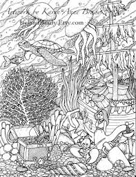 World Map Coloring Page Ocean Ocean Scene Coloring Pages Best Beautiful Page Sea Animals