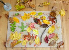 autumn writing paper autumn leaf collage the imagination tree large scale autumn leaf collage art project for kids
