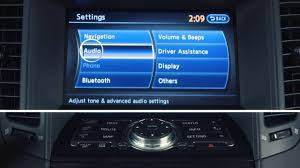 2013 infiniti fx audio system with navigation youtube