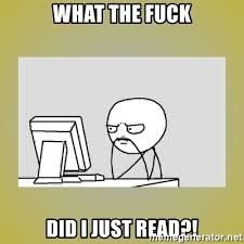 What The Fuck Did I Just Read Meme - what the fuck did i just read sitting at computer meme generator