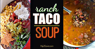 ranch taco soup u2014 recipes hubs