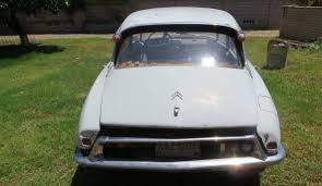 Car Bill Of Sale Az by Sidelined Since 1980 1962 Citroen Id19