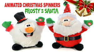 sing u0026 dance santa claus u0026 frosty the snowman animated christmas