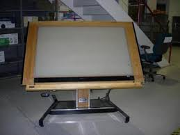 Light Drafting Table Drafting Tables Government Auctions Governmentauctions Org R