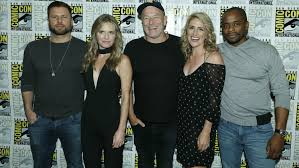 james roday and maggie lawson 2015 psych the movie cast at san diego comic con 2017 photo galleries