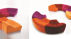 mousse polyur hane canap les canapés composables dessinent des îlots de détente