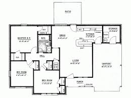 Modern Three Bedroom House Plans - 3 bedroomed house plans in south africa memsaheb net