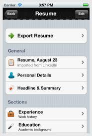 Jobs180 Resume Thumbs Up Smart Phone Resumes