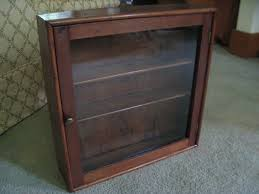 old glass doors curio cabinet curio wall cabinets antique on ebay with glass