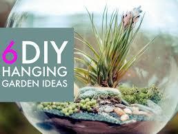 6 creative hanging gardens that you can make yourself mason jar