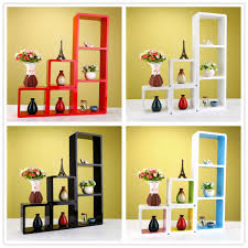 Wooden Box Shelves by Floating Mdf Wall Mount Shelf Cube Naiture 24 L X 3 W X 12 Wall