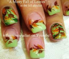easy thanksgiving nail designs