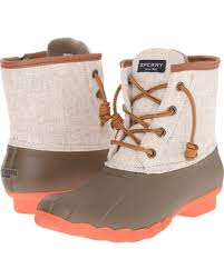 womens duck boots sale spectacular deal on sperry top sider saltwater hemp canvas