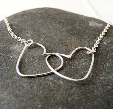 silver double heart necklace images Silver double heart necklace tanya garfield jewellery jpg