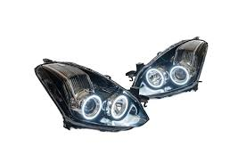 nissan altima coupe led lights oneighty headlight led orb rings kit altima coupe