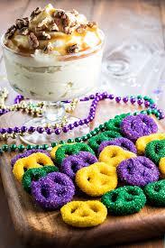 mardi gra cake king cake dip hooplah
