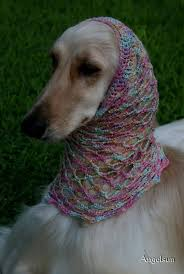 afghan hound and poodle afghan hound snoods for sale