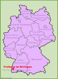Map Of Portofino Italy by Freiburg Location On The Germany Map