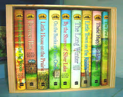 hard cover boxed set of u201clittle house u201d books laura ingalls