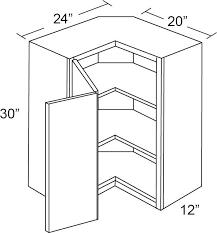 corner wall cabinet in kitchen fabuwood galaxy cobblestone 24w 30h pie cut corner wall cabinet