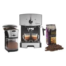 ideas capresso dynamic duo bundle and cool capresso coffee maker