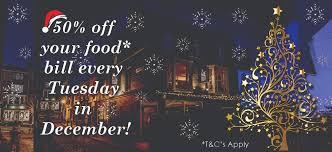 Christmas Party Tunbridge Wells - the hide out restaurant in tunbridge wells