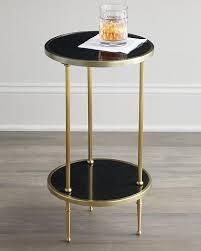 West Elm Etched Granite Coffee Table Granite Top Side Table