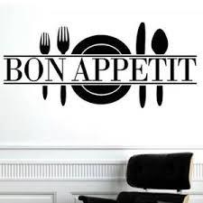 autocollant cuisine stickers cuisine bon appetit achat vente stickers cuisine bon