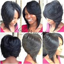 bob haircuts with feathered sides gallery bob haircut with feathered sides black hairstle picture