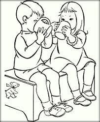 friend coloring pages color zini