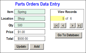 edit records in excel worksheet data entry form contextures blog