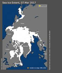 square miles to square feet arctic sea ice maximum at record low for third straight year