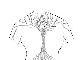 tree of celtic knot stencil golfian com