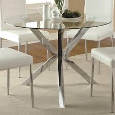 ikea glass top dining table uk used and chairs 6 23228 gallery
