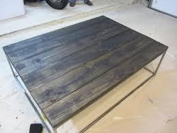 custom coffee table u2013 ala restoration hardware and many others