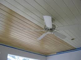 White Beadboard Ceiling by Interior White Painted Wooden Beadboard Ceiling Panels For Living
