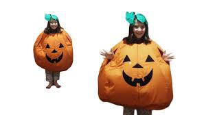 how to make a pumpkin costume 64 youtube