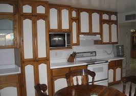 Painted Cabinet Doors Kitchen Two Tone Cabinets Cheep Toned Doors Painting Property