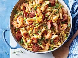 pasta recipes shrimp boil pasta recipe southern living