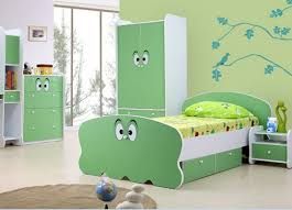 green bedroom furniture set for kid room home interiors