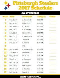 best 25 steelers schedule ideas on nfl steelers